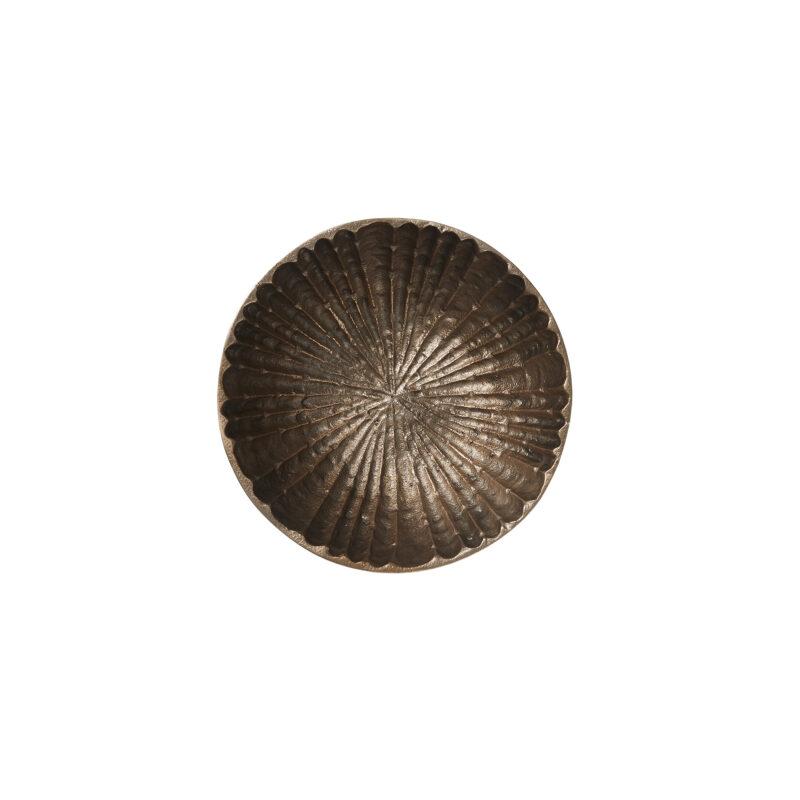 Dekoratyvinis dėklas antikinis auksas